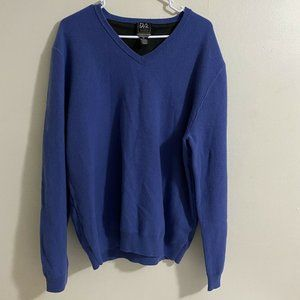 Jos. A. Bank Traveler Travel Tech V-Neck Sweater